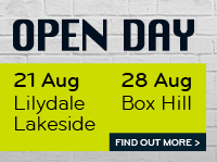 Box Hill Institute Open Day 2016_Box Hill and Lilydale Lakeside