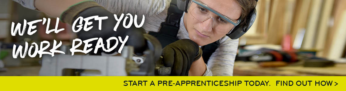 Start a Pre-Apprenticeship Today