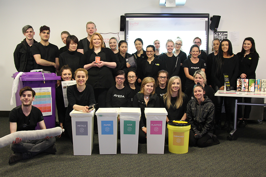 Sustainable Salons team