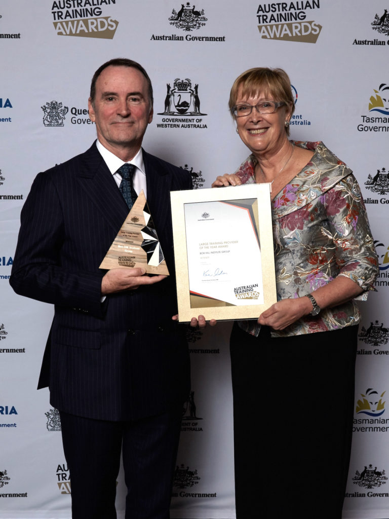 Box Hill Institute Group Wins Australian Large Training Provider of the Year